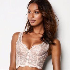 Victoria's Secret Hook-and-eye long line bra